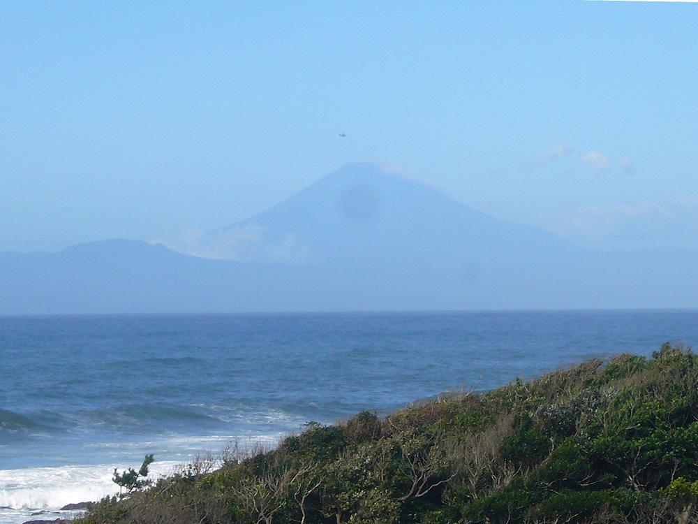 台風一過の富士山綺麗です