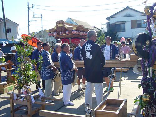 市指定重要民族文化財の「佐島御船唄」