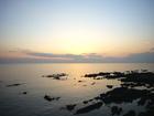 夕陽が綺麗でした