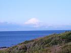 富士山の白い帽子が大きくなって(12月8日)