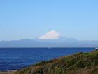 富士山の雪化粧(12月23日)
