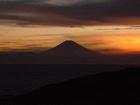 富士山が見えました〜