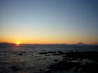 大晦日の富士山(12月31日)