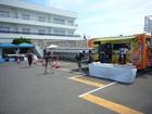 佐島で収録「キッチンが走る!」