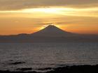 夏の終り富士山(8月28日)