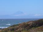 暖かい南風、富士山が見えました(10月16日)