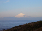 富士山が綺麗に見えています